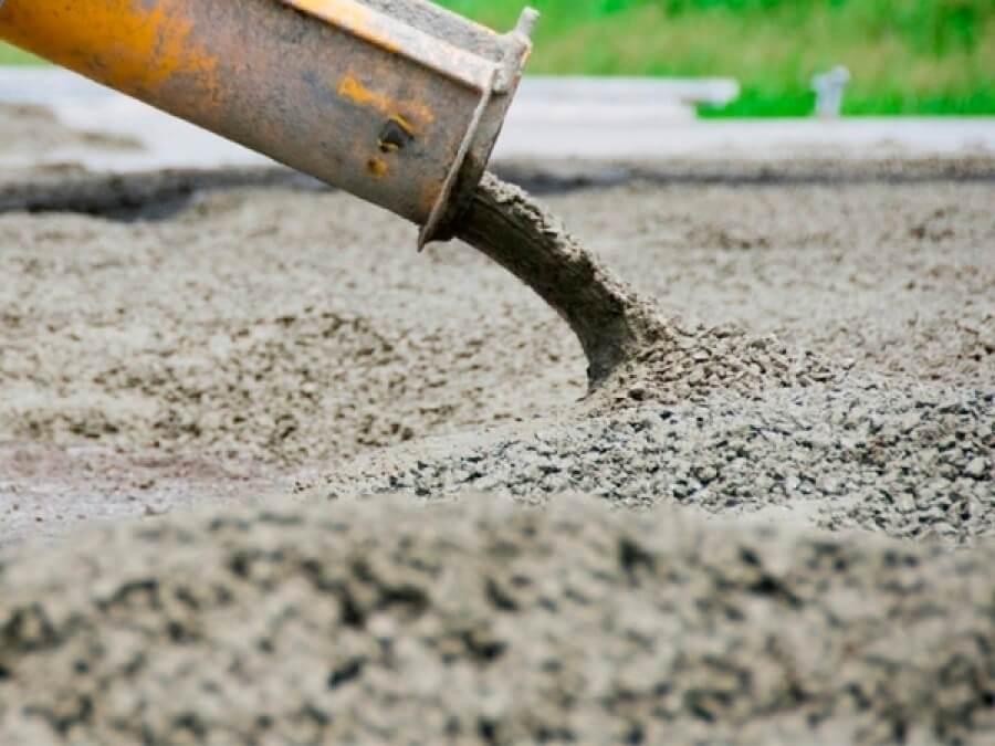 burada beton qatqilari ve su kecirmezlik qatqilari tesvir edilib